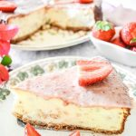 CHEESECAKE DI GRANO ALLE FRAGOLE